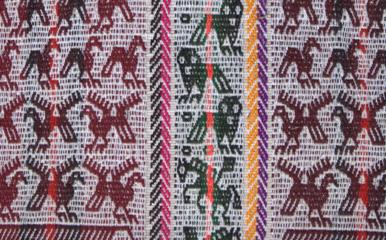 Bolivian Weaving
